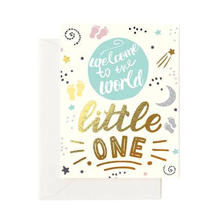 Welcome to the World Little One Greeting Card