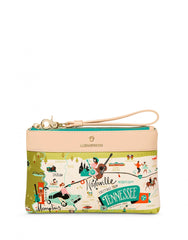 Tennessee Scout Wristlet by Spartina