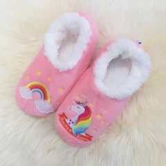 Rainbows and Unicorn Slippers by Snoozies