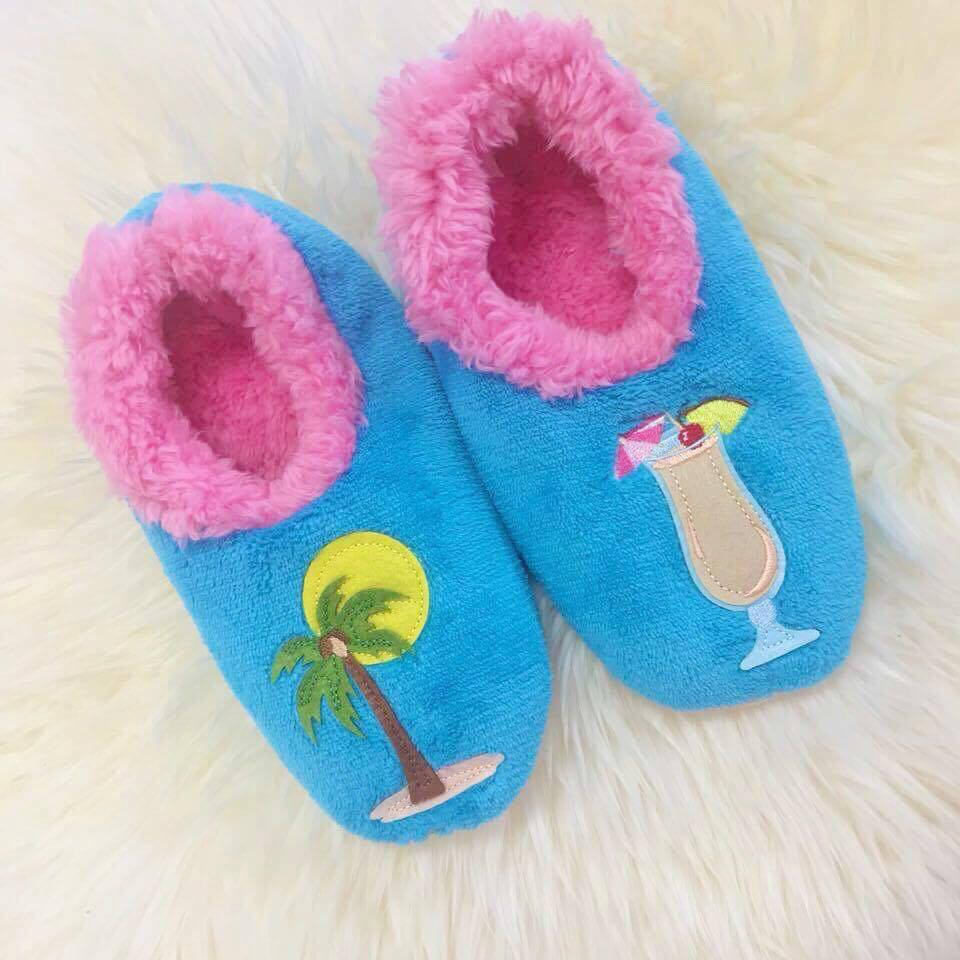 83364134176 Snoozies! Slippers - Piña Colada – Prep Obsessed