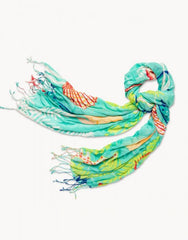 Golden Mermaid Scarf by Spartina
