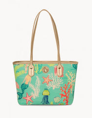 Golden Mermaid Medium Tote by Spartina