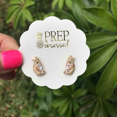 Signature Pet Enamel Studs by Prep Obsessed - Tabby Cat