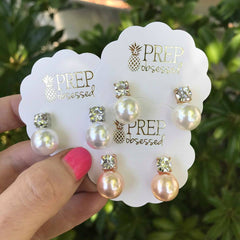 Didi Pearl Stud Earrings