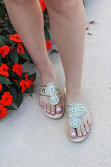 Sparkle Sandals - Gold Glitter by Jack Rogers