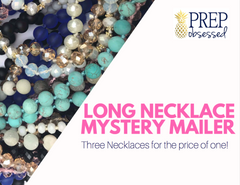 Long Necklaces Mystery Mailer by Prep Obsessed