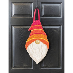 Gnome Hooked Door Decor