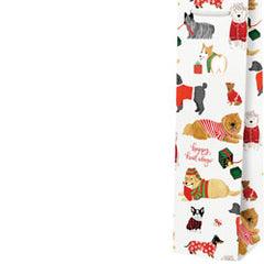 'Happy Howlidays' Dogs Wine Bag