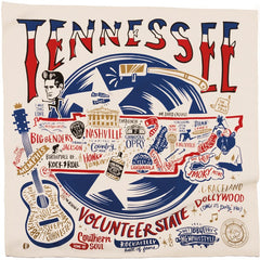 'Tennessee' Kitchen Towel by PBK