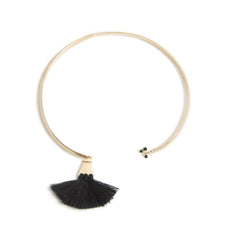 Sants Adjustable Black Choker