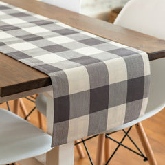 Black Buffalo Check Table Runner by PBK