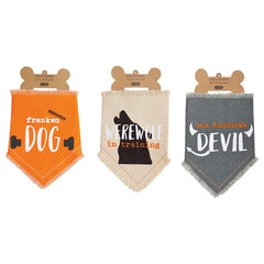 Halloween Dog Bandanas by Mud Pie - Choice of Saying