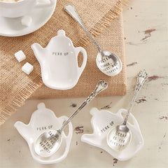 Coffee Spoon Rest Set by Mud Pie - 3 Options Available