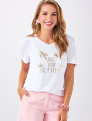 'Shake Your Palm Palms' Graphic Tee by Charlie Paige