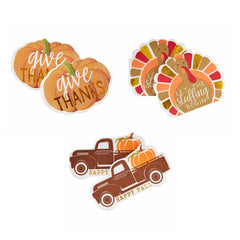 Fall Figural Napkin Sets by Mud Pie - Choice of Design