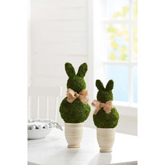 Bunny Topiaries by Mud Pie - Choice of Size