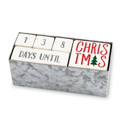 Holiday Countdown Block Set by Mud Pie