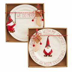 Christmas Gnome Cheese Sets by Mud Pie - Choice of Style