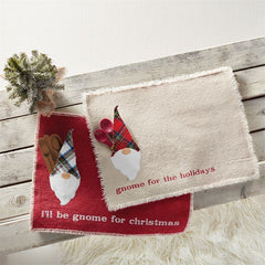 Gnome Pocket Placemats by Mud Pie - Choice of Design