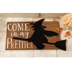 'Come In My Pretties' Witch Doormat by Mud Pie