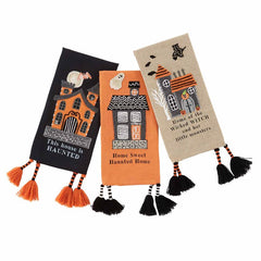 Haunted House Towels by Mud Pie - Choice of Style