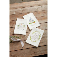 Wedding Towels by Mud Pie - Choice of Design