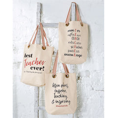 Teacher Totes by Mud Pie