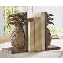 Pineapple Bookends by Mud Pie