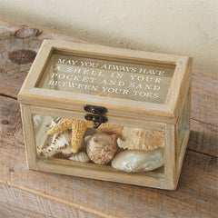 Beach Shadow Box by Mud Pie
