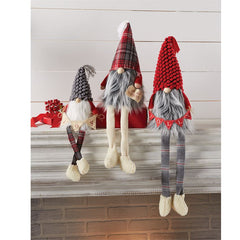 Holiday Sign Dangle Leg Gnomes by Mud Pie - Choice of Style
