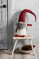 Extra Large Tartan Gnome by Mud Pie
