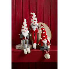 Christmas Dangle Leg Gnomes by Mud Pie - Choice of Style