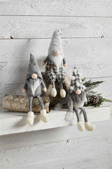 Neutral Dangle Leg Gnomes by Mud Pie - Choice of Style