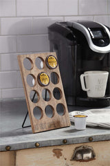 Coffee Pod Display by Mud Pie