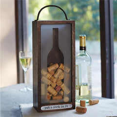 Put A Cork in It Wine Cork Box by Mud Pie
