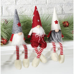 Gnome Shelf Sitter by Mud Pie - 3 Styles Available