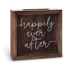 Happily Ever After Wedding Keepsake Box by Mud Pie