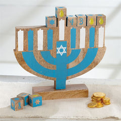 My First Menorah Hanukkah Set by Mud Pie