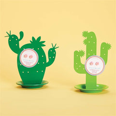 Cactus Jewelry Holder with Cactus Earrings
