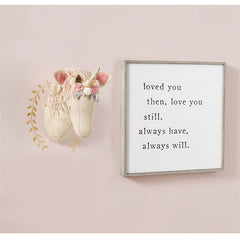 'Love You Always' Plaque by Mud Pie