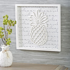 Pineapple Plaque by Mud Pie
