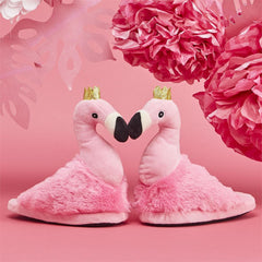 Childrens Flamingo Slippers