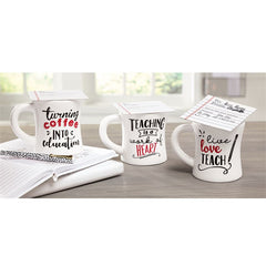 Teacher Coffee Mug Gifts by Mud Pie