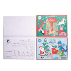 Christmas Countdown Activity Placemat Books - Choice of Style