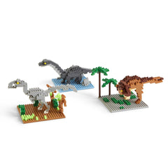Dinosaurs Tiny Building Blocks - Choice of Style
