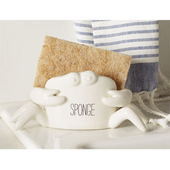 Crab Sponge Holder by Mud Pie