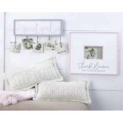 Thank Heaven For Little Girls' Distressed Frame by Mud Pie