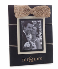 'mr & mrs' Frame by Mud Pie
