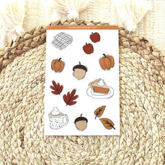 Fall Sticker Sheet