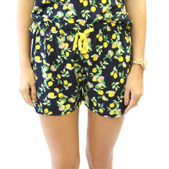 Lemon Drop Dreams Sleep Shorts